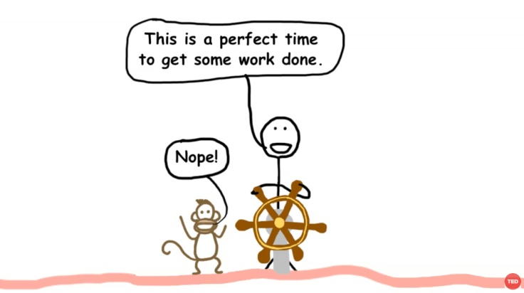 Een volmaakte presentatie met aandoenlijk, simpele illustraties