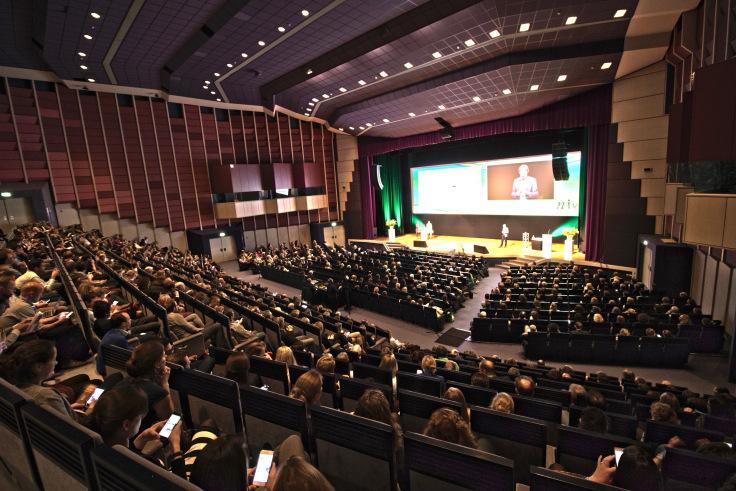 volle nak in het Auditorium MECC op de Internistendagen 2018