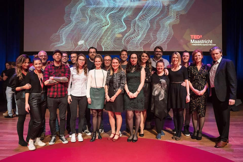 TEDxMaastricht team picture 2016 Theater Vrijthof